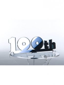 100th Birthday Cupcake Stand Topper