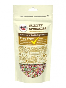 Pearlised Rainbow Non-Pareils 100g