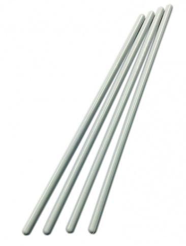 White Dowels 300mm (12'' inch) 4 pack
