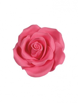Medium Soft Sugar Roses - Bright Pink 38mm - Box of 20