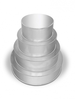 4 Tier Round Multilayer Cake Tins Set