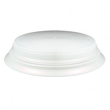 Round Plastic Cake Stand - Pearl
