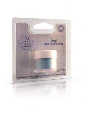 Edible Silk Range- Pale Pacific Blue