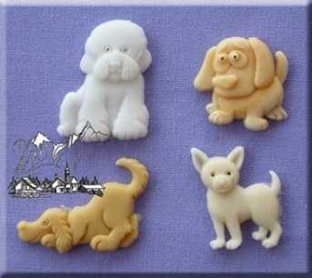 Dogs Silicone Mould