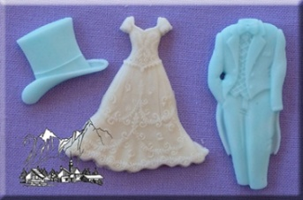 Wedding Silicone Mould