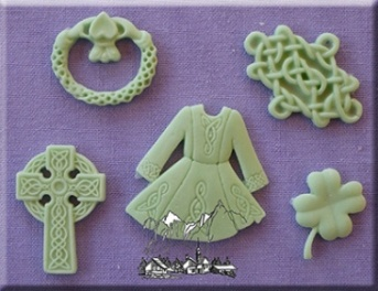 Luck Of The Irish Silicone Mould