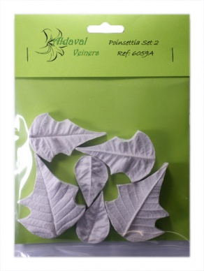 Poinsettia Leaf Veiner Set 2