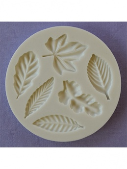 Leaves Various Silicone Mould