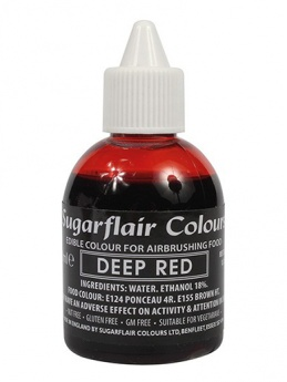 Sugarflair Airbrush Colour - Deep Red