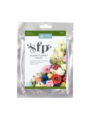 Squires SFP Sugar Florist Paste - Holly / Ivy Green