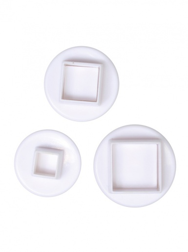 Cake Star Plunger Cutters Set of 3 - Square