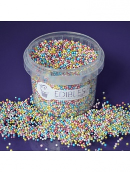 Shimmer Multi Colours - Non Pareils Edible Decorations - 100g