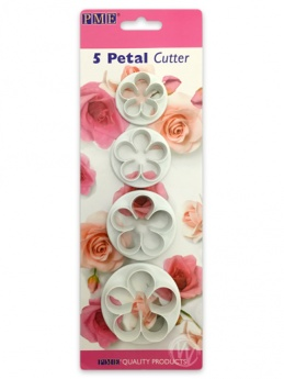 Five Petal Cutter (set of 4)