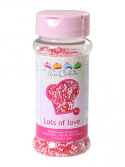 FunCakes Nonpareils - Lots of Love 80g