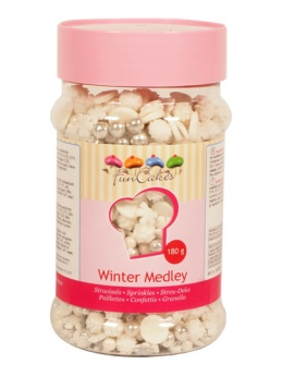 FunCakes Sprinkle Medley - Winter 180g