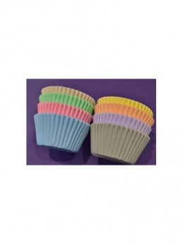 Pastel Cupcake Cases - Pack of 96 by Purple Cupcakes