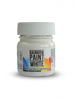 Rainbow Paint - White Food Paint