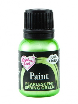 Rainbow Dust Paint - Pearlescent Spring Green