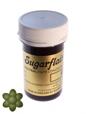 Sugarflair Spectral Paste - Spruce Green