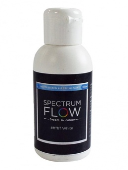 Spectrum Flow - Water Based Airbrush Colour 100ml - White