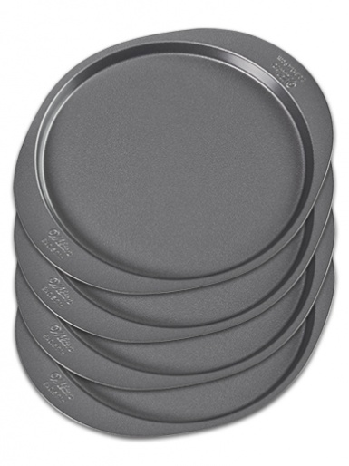 Wilton Easy Layers Round Cake Pan Set - 4 Pieces