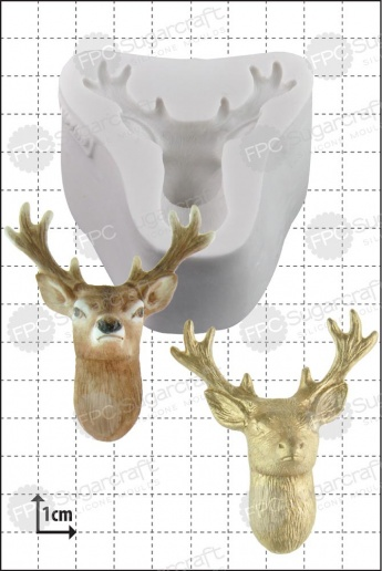 Stag's Head Silicone Mould