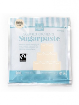 Antique Lace Squires Kitchen Fair Trade Sugarpaste 250g