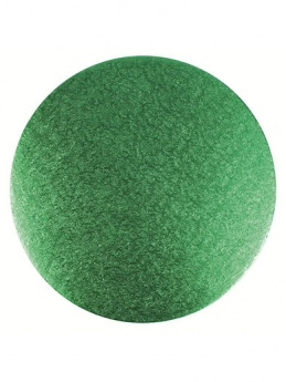 10'' Green - Double Thick Round Cake Card