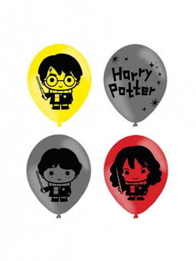 6 Harry Potter Character Latex Balloons