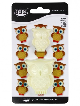 JEM Pop It moulds - Owls