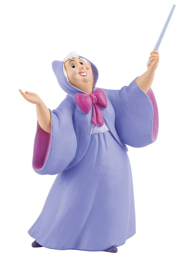 Fairy Godmother from ''Cinderella'' - Cake Topper / Figurine