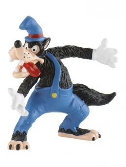 Big Bad Wolf from ''Three Little Pigs'' - Cake Topper / Figurine