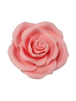Extra Large Soft Sugar Roses - Light Pink 63mm - Box of 8