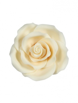 Medium Soft Sugar Roses - Ivory 38mm - Box of 20