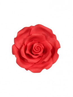 Extra Large Soft Sugar Roses - Red 63mm - Box of 8