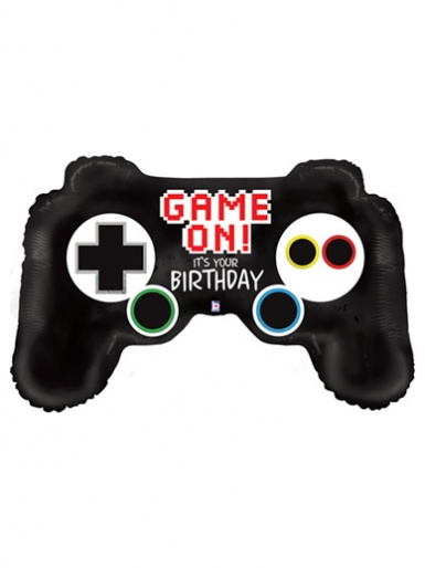 Game Controller Shaped Balloon - 36'' Foil