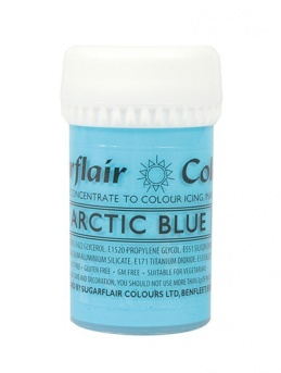 Sugarflair Satin Paste - Arctic Blue