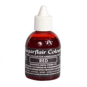 Sugarflair Airbrush Colour - Red