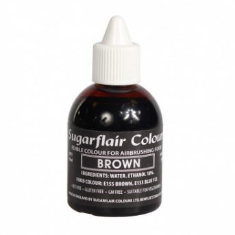 Sugarflair Airbrush Colour - Brown