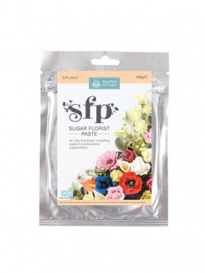 Squires SFP Sugar Florist Paste - Soft Peach 200g