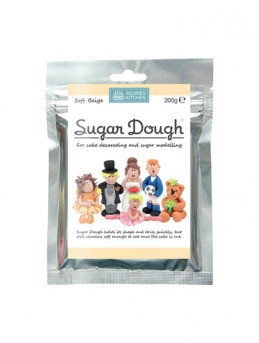 Squires Kitchen SUGAR DOUGH - SOFT BEIGE 200g
