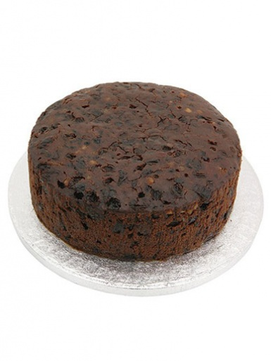 Sweet Success 7'' Round Fruit Cake (2.5'' Deep)