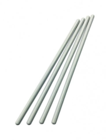 White Dowels 200mm (8'' inch) 4 pack