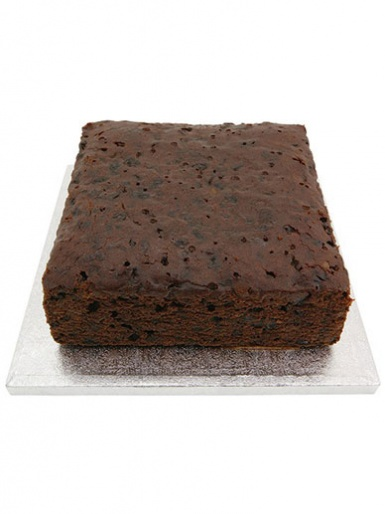 Sweet Success 8'' Square Fruit Cake (2.5'' Deep)
