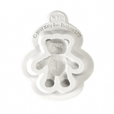 Katy Sue Mould - Baby Teddy Bear 4cm