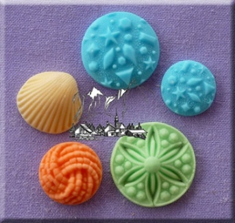 Random Patterns Silicone Mould