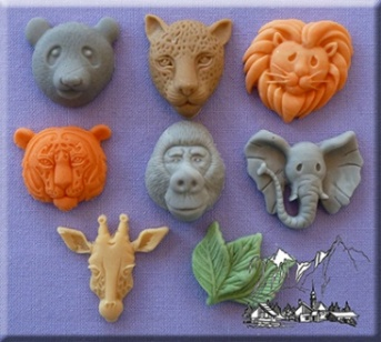 Large Animal Heads Silicone Mould