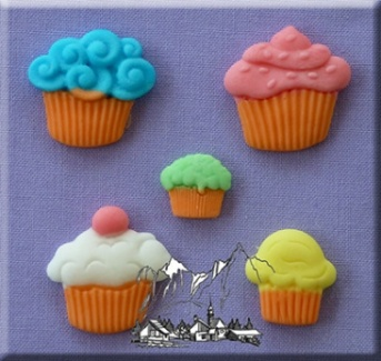 Cup Cakes Silicone Mould