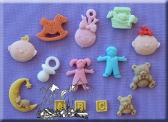 Nursery Silicone Mould