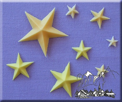 Star Silicone Mould